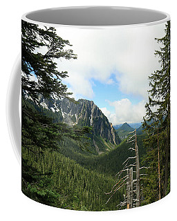 A Vista - Mt. Rainier National Park Coffee Mug