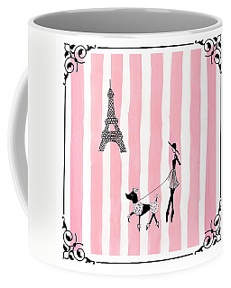 A Walk In Paris Coffee Mug