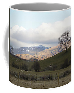 Coffee Mug featuring the photograph A Walk In The Countryside In Lake District England by Tiffany Erdman