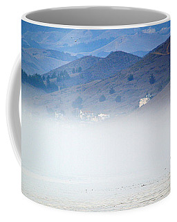 A Walk In The Evening Fog Coffee Mug by AJ  Schibig