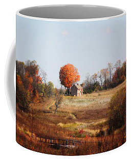 A Walk In The Meadow Coffee Mug by Trina  Ansel