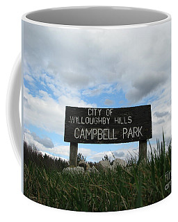 Coffee Mug featuring the photograph A Walk In The Park  by Michael Krek