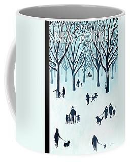 A Walk In The Snow Coffee Mug
