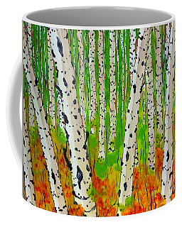A Walk Though The Trees Coffee Mug