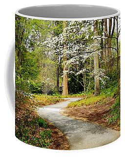 A Walk To Remember Coffee Mug by Trina  Ansel