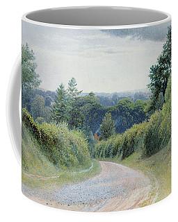 A Warwickshire Lane Coffee Mug
