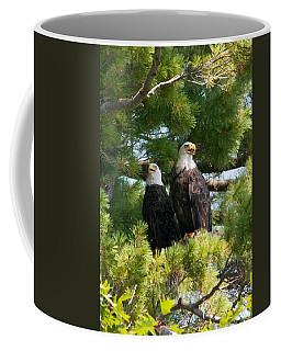 A Watchful Pair Coffee Mug