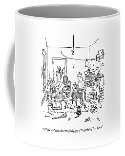 A Wife Asks Her Writer-husband Coffee Mug