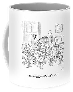 A Wife Surrounded By Beagles Addresses Coffee Mug