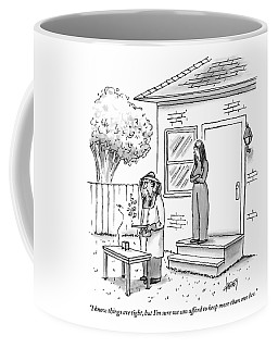 A Wife Talks To Her Beekeeper Husband Who Coffee Mug
