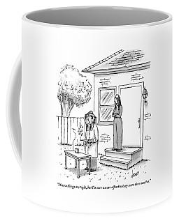 A Wife Talks To Her Beekeeper Husband Who Coffee Mug