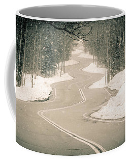 A Winding Winter Wonderland Coffee Mug