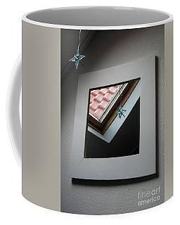 Coffee Mug featuring the photograph A Window To Parallel World by Ausra Huntington nee Paulauskaite