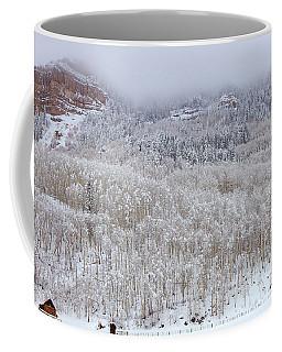 A Winter Cabin Coffee Mug