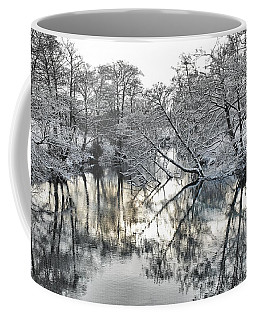 Coffee Mug featuring the photograph A Winter Scene by Paul Gulliver