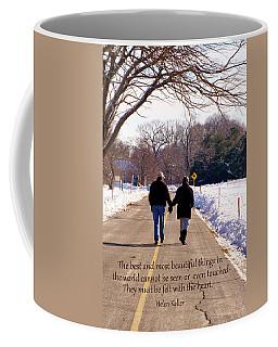 A Winter Walk/inspirational Coffee Mug