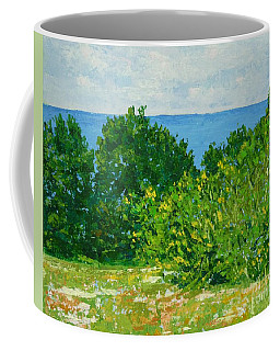 A Winter's Day At The Beach Coffee Mug by Gail Kent