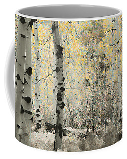 A Wisp Of Gold Coffee Mug