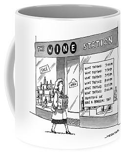 The Wine Station Coffee Mug