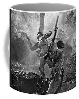 A World War II Hand To Hand Combat Battle Scene. Coffee Mug