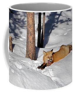 A Yawn And A Stretch Coffee Mug