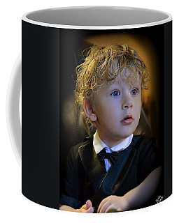 Coffee Mug featuring the photograph A Young Gentleman by Ally  White