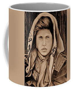 A Young Girl Coffee Mug by Jean Cormier