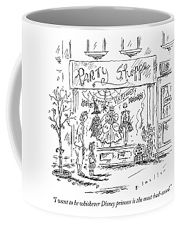 A Young Girl Tells Her Mother Coffee Mug
