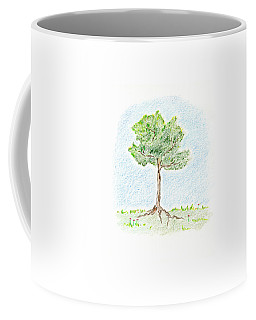 A Young Tree Coffee Mug