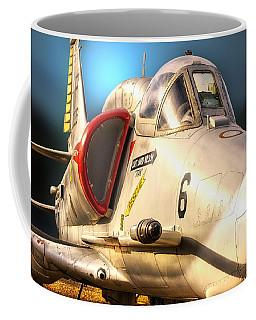 A4 Skyhawk Attack Jet Coffee Mug