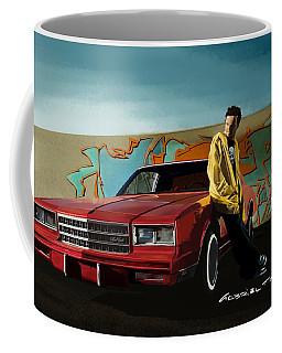 Aaron Paul As Jesse Pinkman @ Tv Serie Breaking Bad Coffee Mug