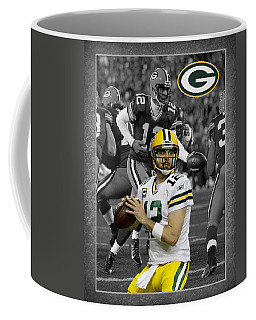 Aaron Rodgers Packers Coffee Mug