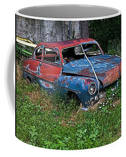 Abandoned 1950 Mercury Monteray Buick Coffee Mug
