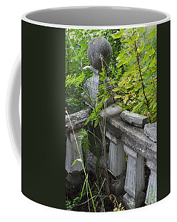 Coffee Mug featuring the photograph Abandoned Cemetery by Cathy Mahnke
