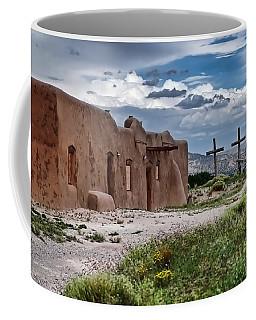 Abandoned Church In Abiquiu New Mexico Coffee Mug