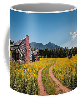 Abandoned Country Life Coffee Mug
