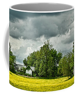 Abandoned Farm In Spring Coffee Mug by Greg Jackson