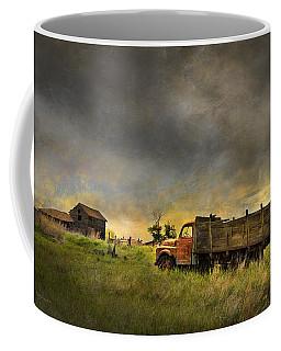 Abandoned Farm Truck Coffee Mug