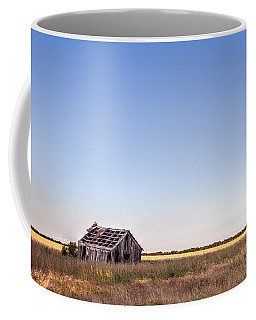 Abandoned Farmhouse In A Field Coffee Mug