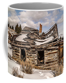 Coffee Mug featuring the photograph Abandoned Home Or Business by Sue Smith