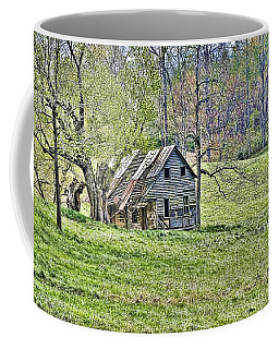 Coffee Mug featuring the photograph Abandoned by Kenny Francis