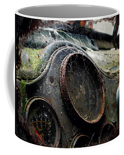 Coffee Mug featuring the photograph Abandoned by Micki Findlay