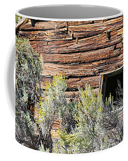 Coffee Mug featuring the photograph Abandoned Shack by Susan Leonard