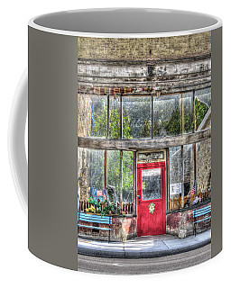 Coffee Mug featuring the photograph Abandoned Shop by Susan Leonard