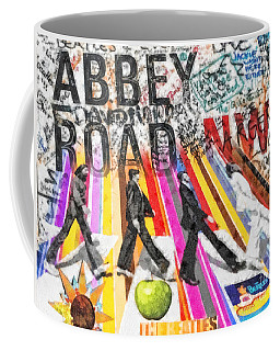 Abbey Road Coffee Mug by Mo T