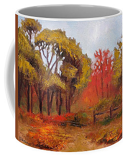Coffee Mug featuring the painting Abeel Fields by Jason Williamson