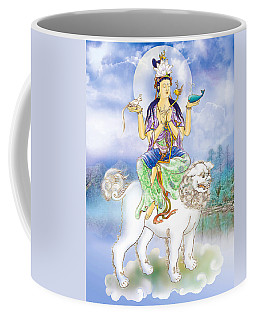 Abhetri Kuan Yin  Coffee Mug by Lanjee Chee
