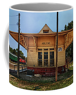 Coffee Mug featuring the photograph Abilene Station by Mary Jo Allen
