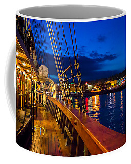 Aboard Peacemaker Coffee Mug