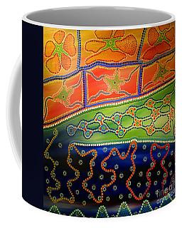 Original Sold Aboriginal Inspirations 7 Coffee Mug
